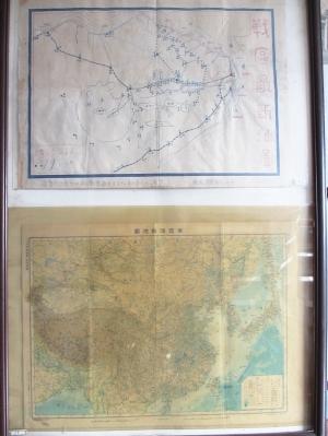 77年前手绘抗战地图亮相溧阳