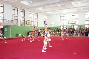 中小学生健美操比赛落幕图片